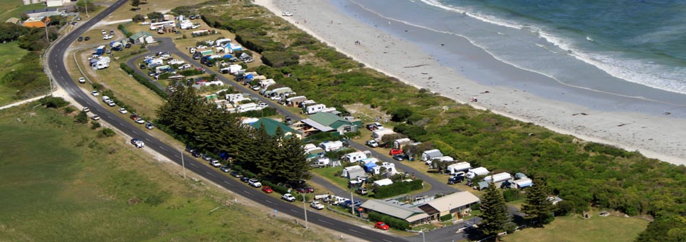PORT MacDONNELL foreshore tourist park Woolwash Beach
